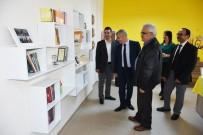 Karaman'da TOKİ Ortaokuluna Kütüphane