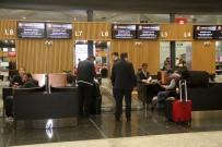 ÇAY BAHÇESİ - (Özel) THY'den İstanbul Havalimanı'nda 5 Yıldızlı Otelleri Aratmayan Yolcu Salonu