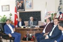 Sağlık-Sen Şube Başkanı Ensarioğlu'ndan Karamehmetoğlu'na Ziyaret