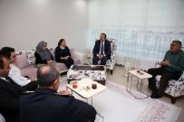 Vali Pehlivan, Şehit Polis Hamit Şahin'in Ailesini Ziyaret Etti