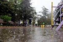 HAVA SICAKLIĞI - Meteorolojiden yurt genelinde sağanak uyarısı