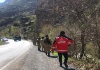 UZMAN ÇAVUŞ - Dereye Uçan Araçta Bir Asker Hayatını Kaybetti