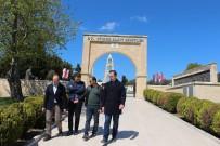ATATÜRK EVİ - Dumlupınar Ve Altıntaş Kaymakamlarının Çanakkale Ziyareti