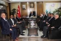 İl Genel Meclis Başkanı Ağın Ve Meclis Üyelerinden Başkan Pekmezci'ye Ziyaret