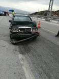 Otomobil İle Kamyonet Çarpıştı Açıklaması 3 Yaralı