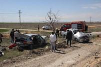 NUMUNE HASTANESİ - Otomobil Pikaba Çarptı Açıklaması 1 Ölü, 5 Yaralı