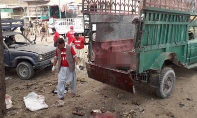 Pazar yerinde patlama: 16 ölü