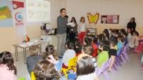 SAĞLIK MESLEK LİSESİ - Burhaniye'de Minik Öğrencilere Hijyen Eğitimi