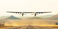 DENEME UÇUŞU - Dünyanın en büyük uçağı ilk uçuşunu yaptı