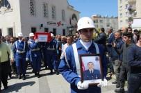 İSKENDER YÖNDEN - Jandarma Uzman Çavuş Murat Semerci İskenderun'da Toprağa Verildi