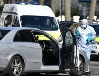 LONDRA - Londra'da Büyükelçilik aracına saldırı