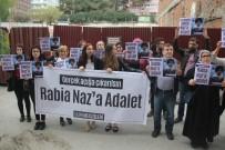 'Rabia Naz'a Adalet' İçin Toplandılar