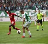 KALE ÇİZGİSİ - Spor Toto Süper Lig Açıklaması Atiker Konyaspor Açıklaması 1 - Demir Grup Sivasspor Açıklaması 1 (İlk Yarı)