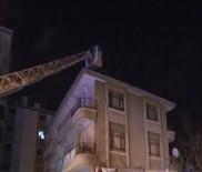 ERDOĞAN TOK - Başkentte 4 Katlı Apartmanda Yangın