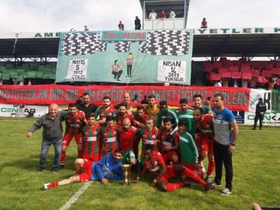 Diyarbakırspor 1. Amatör Lig'de Şampiyon Oldu