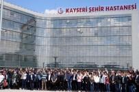 Kayseri Şehir Hastanesi'ne 1 Günde 21 Bin Hasta Girişi Oldu
