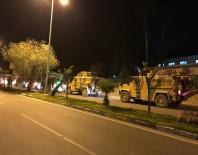 REYHANLI - Suriye sınırına askeri sevkiyat
