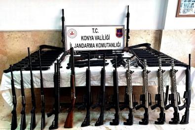 140 Ruhsatsız Av Tüfeği Ele Geçirildi
