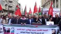 PROTESTO - Açlık Grevindeki Filistinli Tutuklulara Destek Gösterisi