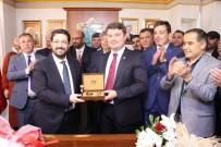 MILLIYETÇI HAREKET PARTISI - Aksaray Belediye Başkanı Evren Dinçer Görevi Devraldı