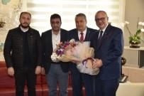 GRUP BAŞKANVEKİLİ - Başkan Ergün, Başkan Çerçi'yi Ağırladı