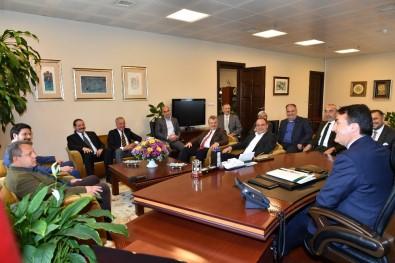 CHP Osmangazi'den Dündar'a Hayırlı Olsun Ziyareti