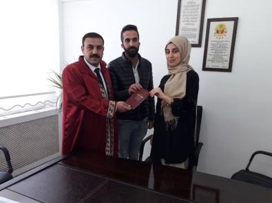 Çiçekdağı İlçe Belediye Başkanı Hakanoğlu, İlk Resmi Nikahını Kıydı