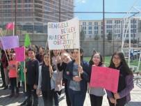 BESLENME DOSTU - Çözüm Koleji Öğrencilerinden Sağlıklı Yaşam Yürüyüşü