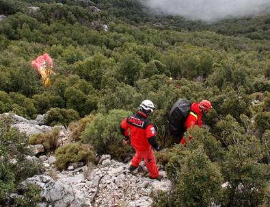 Fethiye'de paraşüt kazası: 2 kişi öldü