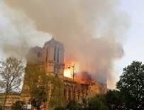 KATOLIK - Notre Dame Katedrali'nde yangın