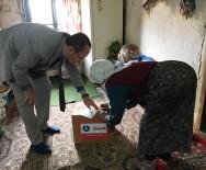 DENİZ FENERİ - Hisarcık'ta 30 Aileye Gıda Yardımı