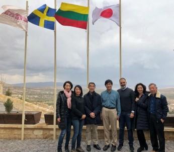 KAPTİD Başkanı Dinler, Japon Büyükelçisini Kapadokya'da Konuk Etti
