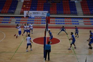 KYK Voleybol Türkiye Finali Grup Eleme Maçları Karabük'te Başladı