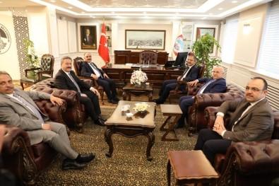 Özhaseki Başkan Palancıoğlu'nu Ziyaret Etti