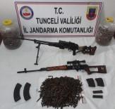 DIŞ MACUNU - Tunceli'de Çok Sayıda Mühimmat Ele Geçirildi, 2 Sığınak İmha Edildi