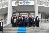 AHMET ÇAKıR - AK Parti'den Belediye Başkanı Gürkan'a Ziyaret