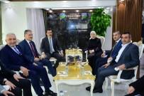 AHMET ÇAKıR - AK Parti Heyetinden Başkan Çınar'a Ziyaret