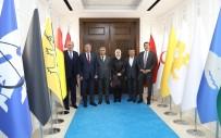 AHMET ÇAKıR - AK Parti Heyetinden Osman Güder'e Ziyaret