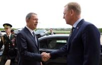 GÜVENLİ BÖLGE - Bakan Akar, ABD Savunma Bakanı Vekili Shanahan İle Görüştü