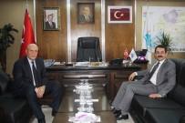 Başsavcı Tiryaki'den Başkan Pekmezci'ye Ziyaret