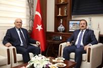 Belediye Başkanı Hükmü Pekmezci, Vali Ali Hamza Pehlivan'ı Ziyaret Etti