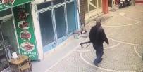 POLİS MERKEZİ - Bilecik'te 3 Kişinin Yaralandığı Olay Sonrası Yaşananlar Güvenlik Kamerasına Yansıdı