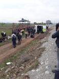 Denizli'de Öğrencileri Taşıyan Otobüs Devrildi Açıklaması 20'Den Fazla Yaralı