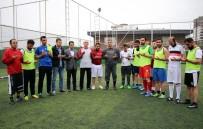 Dicle Elektrik Futbol Turnuvası Dualarla Yeniden Başladı