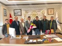 Gazetecilerden Bolvadin Belediye Başkanı Fatih Kayacan'a Ziyaret