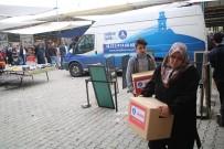 DENİZ FENERİ - Gediz'de 35 Aileye Gıda Yardımı