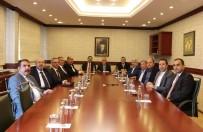 ORTAK AKIL - GTB'den GAOSB Başkanı Şimşek'e Hayırlı Olsun Ziyareti