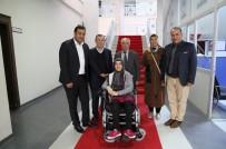 Hollanda'dan Sungurlu'ya Akülü Sandalye Yardımı