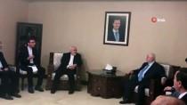 SURIYE DEVLET BAŞKANı - İran Dışişleri Bakanı Zarif, Suriye Dışişleri Bakanı Muallim İle Görüştü