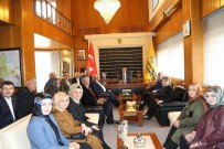 ORTAK AKIL - AK Parti Ve MHP Teşkilatlarından Başkan Altay'a Ziyaret